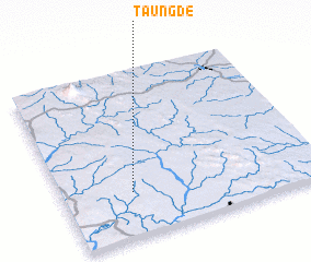 3d view of Taungde