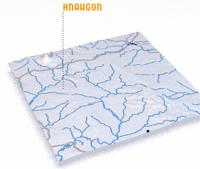 3d view of Hnawgon