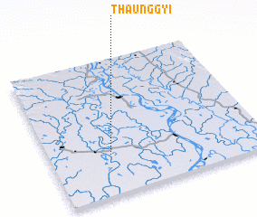 3d view of Thaunggyi
