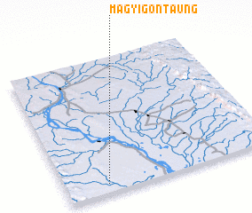 3d view of Magyigon Taung
