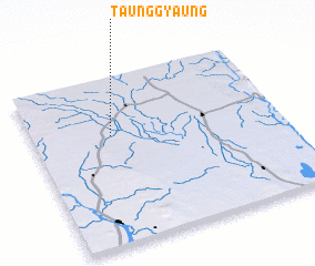 3d view of Taunggyaung
