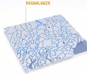 3d view of Negawla-aze