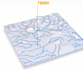 3d view of Tawbo