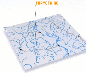 3d view of Thayet-aing