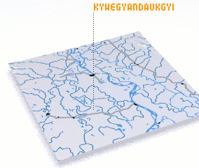 3d view of Kywegyandaukgyi