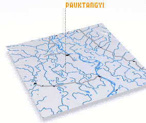 3d view of Pauktangyi