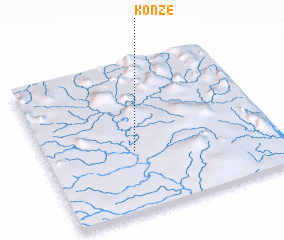 3d view of Konze