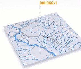 3d view of Daunggyi
