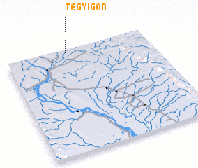 3d view of Tègyigon