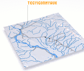 3d view of Tègyigon Myauk