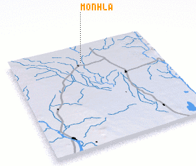 3d view of Monhla
