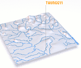 3d view of Taunggyi