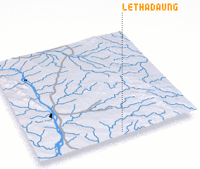 3d view of Lethadaung