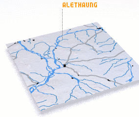 3d view of Alethaung