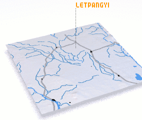 3d view of Letpangyi