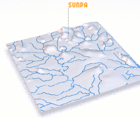 3d view of Sun-pa