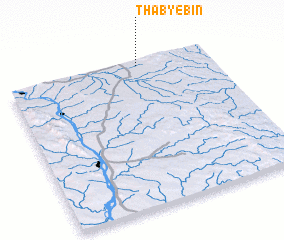 3d view of Thabyebin