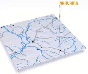 3d view of Mahlaing