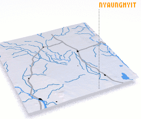 3d view of Nyaungmyit