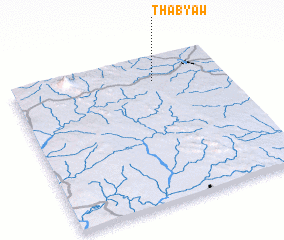 3d view of Thabyaw
