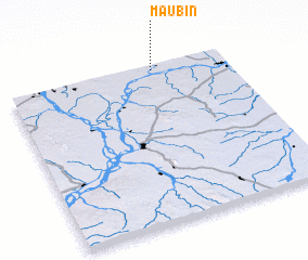 3d view of Maubin