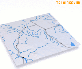 3d view of Talainggyun