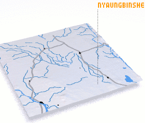 3d view of Nyaungbinshe