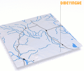 3d view of Dibeyingwe