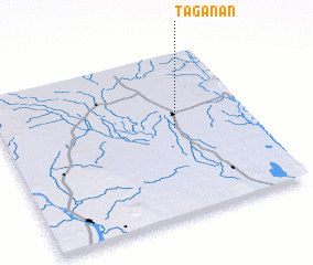 3d view of Taganan