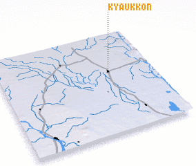 3d view of Kyaukkon
