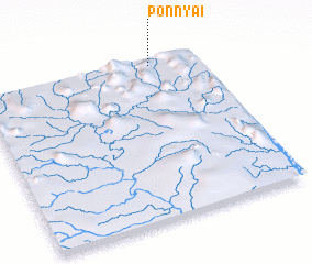 3d view of Ponnya-i