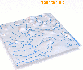 3d view of Taungbohla