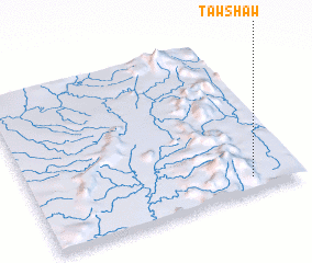 3d view of Tawshaw