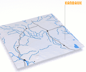 3d view of Kanbauk