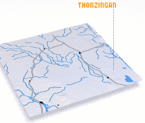 3d view of Thonzingan