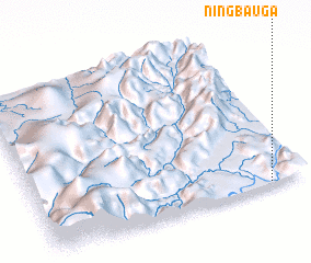 3d view of Ningbau Ga