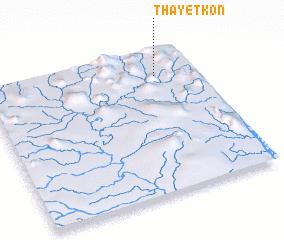 3d view of Thayetkon