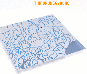 3d view of Thinbaunggyaung