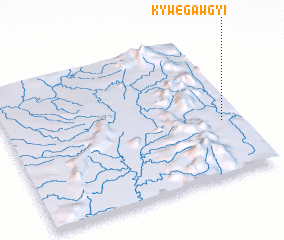 3d view of Kywegawgyi