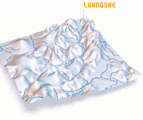 3d view of Lawngshe