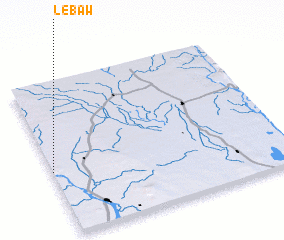 3d view of Lebaw