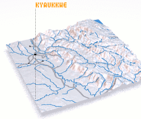 3d view of Kyaukkwe