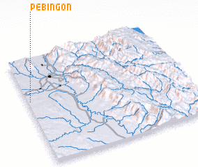 3d view of Pebingon