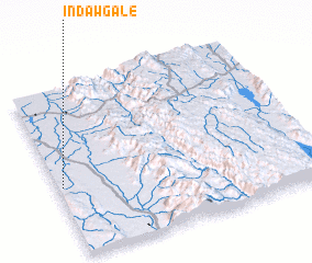 3d view of Indawgale