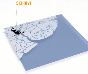 3d view of Seikkyi
