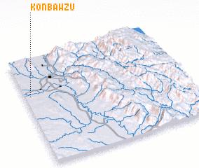 3d view of Konbawzu