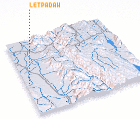 3d view of Letpadaw
