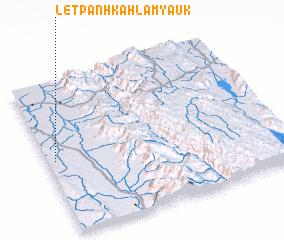 3d view of Letpanhkahla Myauk