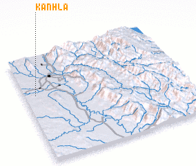 3d view of Kanhla