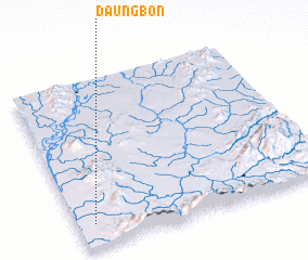 3d view of Daungbon